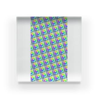 模様216 Acrylic Block