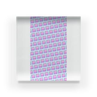模様217 Acrylic Block
