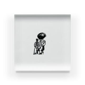 家族写真 Acrylic Block