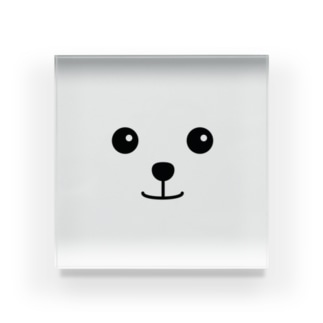 うるうるわんこ Acrylic Block
