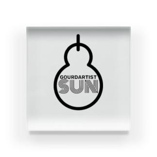 gourdartist.sun Acrylic Block