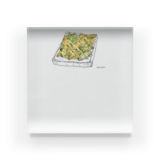 アボカドチーズトースト Acrylic Block