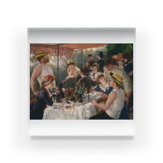 ピエール=オーギュスト・ルノワール 《舟遊びをする人々の昼食》 Acrylic Block