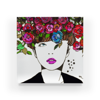 majoccoの期待 Acrylic Block