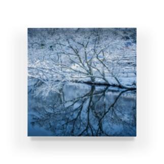 雪と湖 Acrylic Block