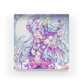 eat xxx - 女の子のヒミツ-B Acrylic Block