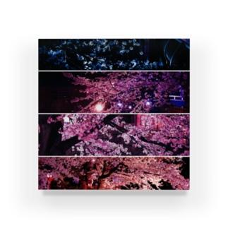 夜桜カルテット Acrylic Block