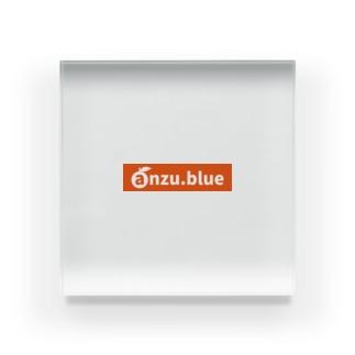 anzu ロゴ(URL) tyle2 Acrylic Block