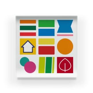 コンビニA Acrylic Block