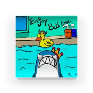サメ の シャーキング Acrylic Block
