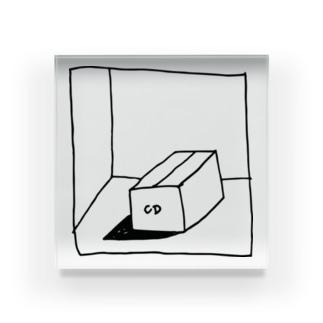 CD box Acrylic Block