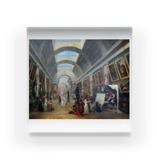 ユベール・ロベール《ルーヴル美術館の改造計画》1796年 Acrylic Block