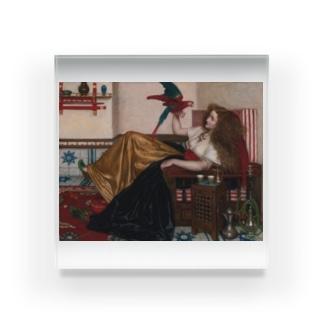 ヴァレンタイン・キャメロン・プリンセプ 《オウムの伝説》 Acrylic Block