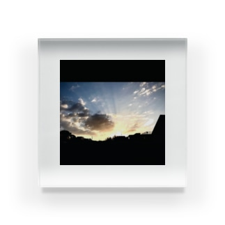 朝焼け530 Acrylic Block