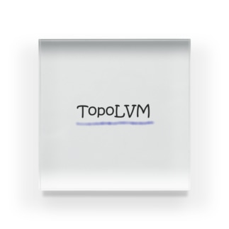 TopoLVM グッズ Acrylic Block