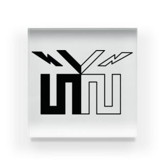 mk-2CHANNELオリジナル(ロゴのみ) アクリルブロック