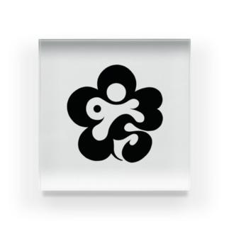 Aチームロゴ Acrylic Block