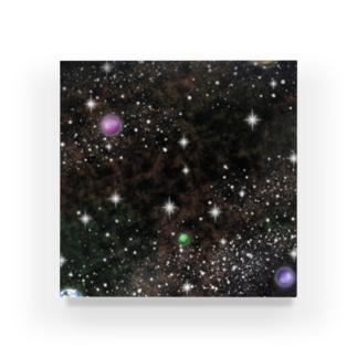キラキラ宇宙 Acrylic Block