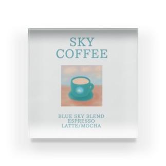 SKY COFFEE Acrylic Block