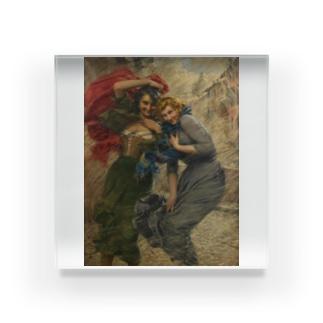 ガエターノ・ベッレイ 《雨の日の彼女たち》 Acrylic Block