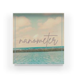 nanometer『去年の海』アクリルブロック Acrylic Block