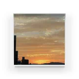あの日の夕日 Acrylic Block