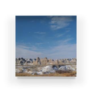 アメリカの景色 Acrylic Block