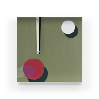 AMPLIFY. - . Acrylic Block