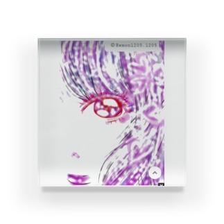 ピュア♥️女子 Acrylic Block