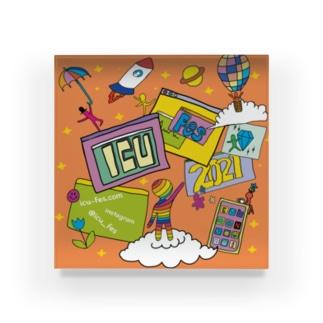 ICUFES2021[ミーティングを起動] Acrylic Block