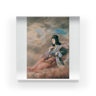 山本芳翠《十二支 丑『牽牛星』》 Acrylic Block