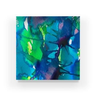 blue_psychic_darling Acrylic Block