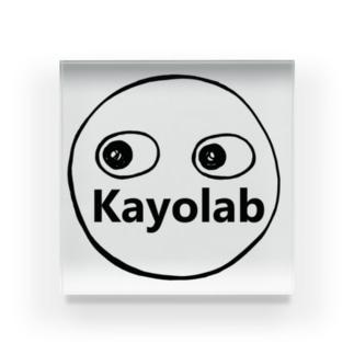 Kayolabくん Acrylic Block