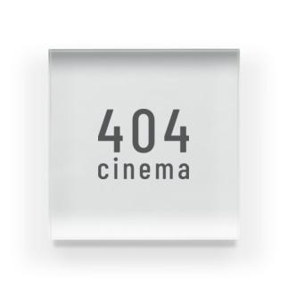 404cinema Acrylic Block