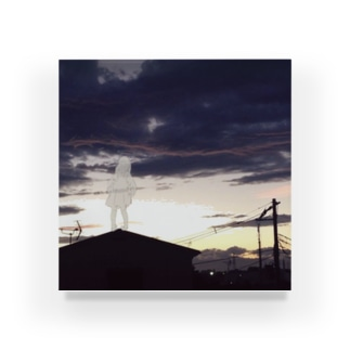 夕暮れの天使 アクリルブロック