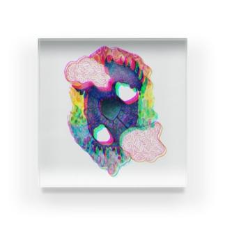 君を見る。 Acrylic Block