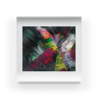 色彩の羽根 2021_003 Acrylic Block
