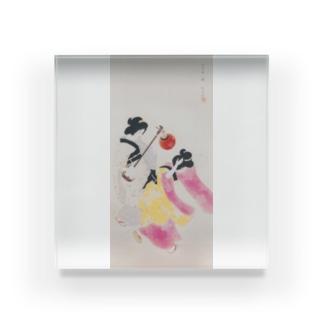 北野恒富《阿波踊》 Acrylic Block