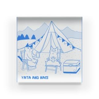 ヤタ&ナギ(キャンプ) Acrylic Block