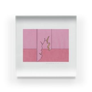 霜田 哲也 Acrylic Block