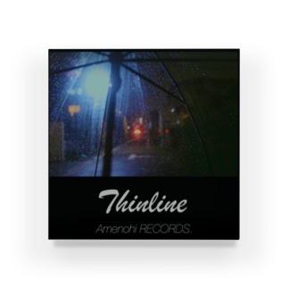 Amenohi RECORDS.「Thinline」 Acrylic Block
