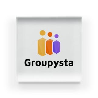 Groupysta公式グッズ Acrylic Block