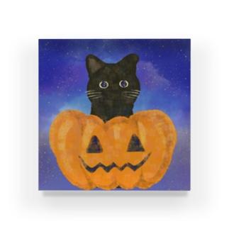 黒猫ちゃん〜ハロウィンver. Acrylic Block