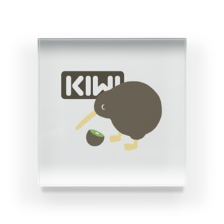 KIWI&KIWI Acrylic Block