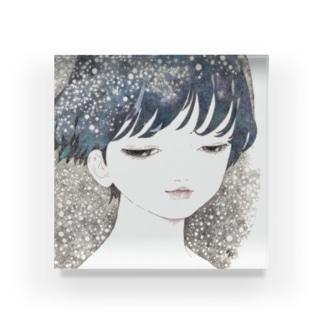 懐かしい色 Acrylic Block