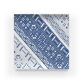 cogin+T No.011 手刺しこぎん刺し Acrylic Block