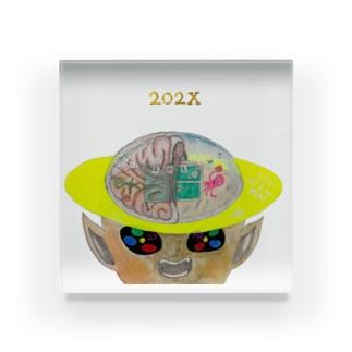YAOAY(a.k.a.笹口騒音)の【明るめ】【ちょい上め】NEW OLYMPIX『202X』 Acrylic Block