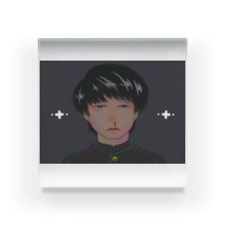 (体調)不良 Acrylic Block