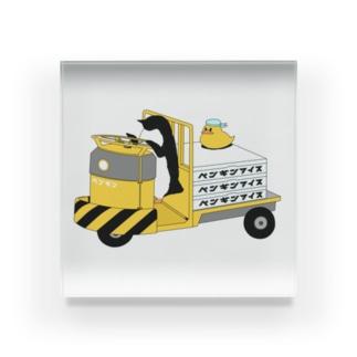ペンギンアイス Acrylic Block