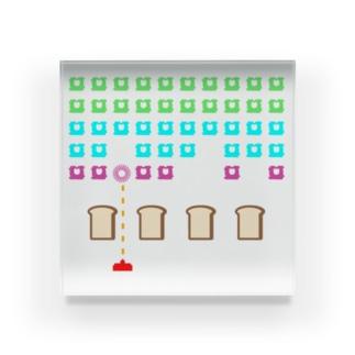 パンベーダーゲーム Acrylic Block
